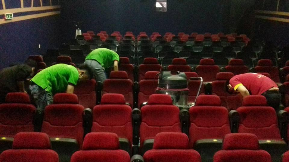 Dịch vụ vệ sinh cho rạp chiếu phim