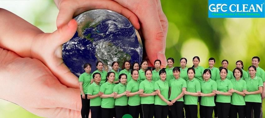Dịch vụ vệ sinh công nghiệp Vũng Tàu uy tín - GFC CLEAN